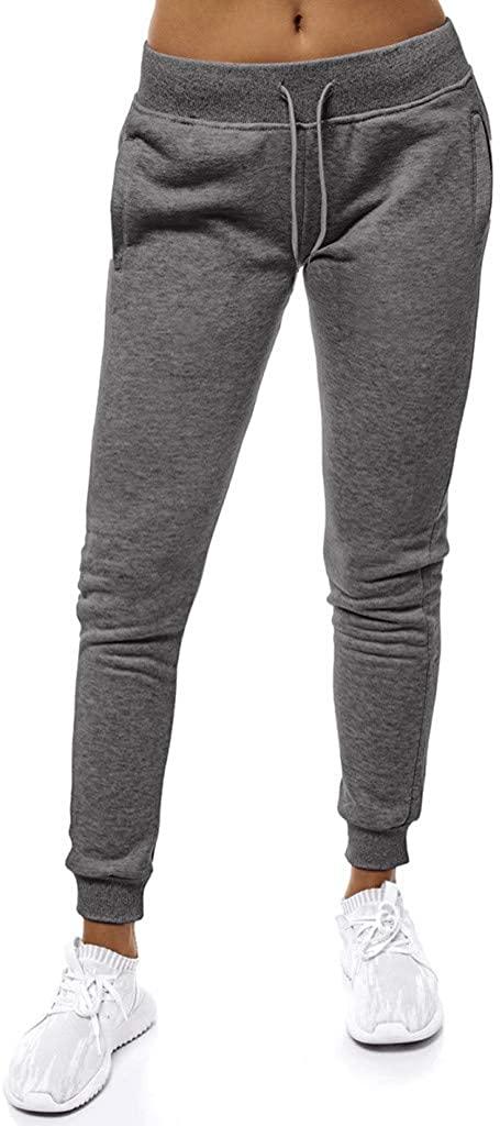 VEZAD Store Women Yoga Sweatpants Workout Joggers Lounge Fitness Stretch Leggings Pants