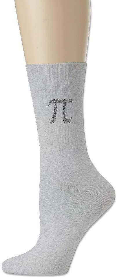 SWEET-YZ Sports Sock Pi Math Cotton Crew Socks For Men Women