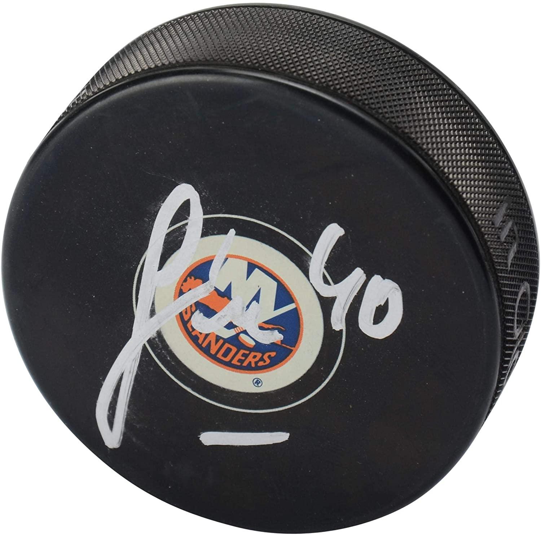 Michael Grabner New York Islanders Autographed Hockey Puck - Autographed NHL Pucks