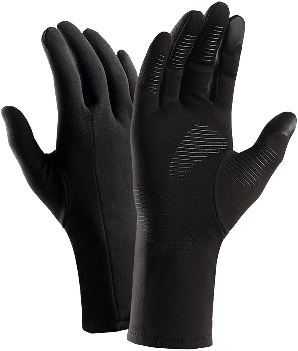YR5V4V 1 Pair Men Women Windproof Anti Slip Ski Practical Multifunctional Sports Thermal Gloves Bike Gift Warm Skiing Gloves