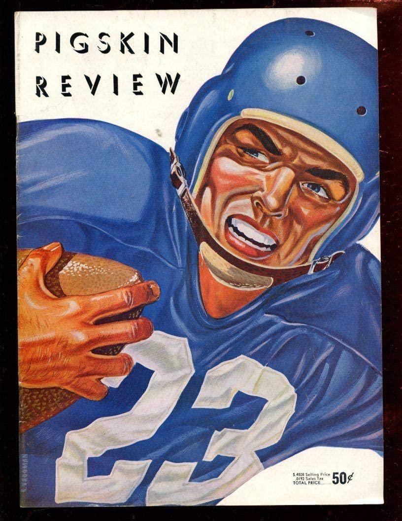 October 20 1956 NCAA Football Program USC vs Washington EX+ - College Programs