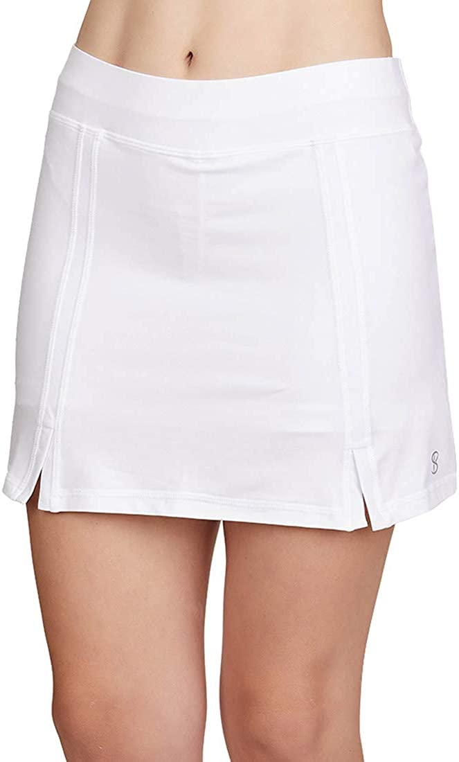 SOFIBELLA Club Lux 15 inch Skirt - White