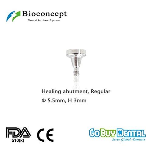 Osstem TS3(Hiossen ET3) Compatible RC Healing Abutment φ5.5mm, Height 3mm