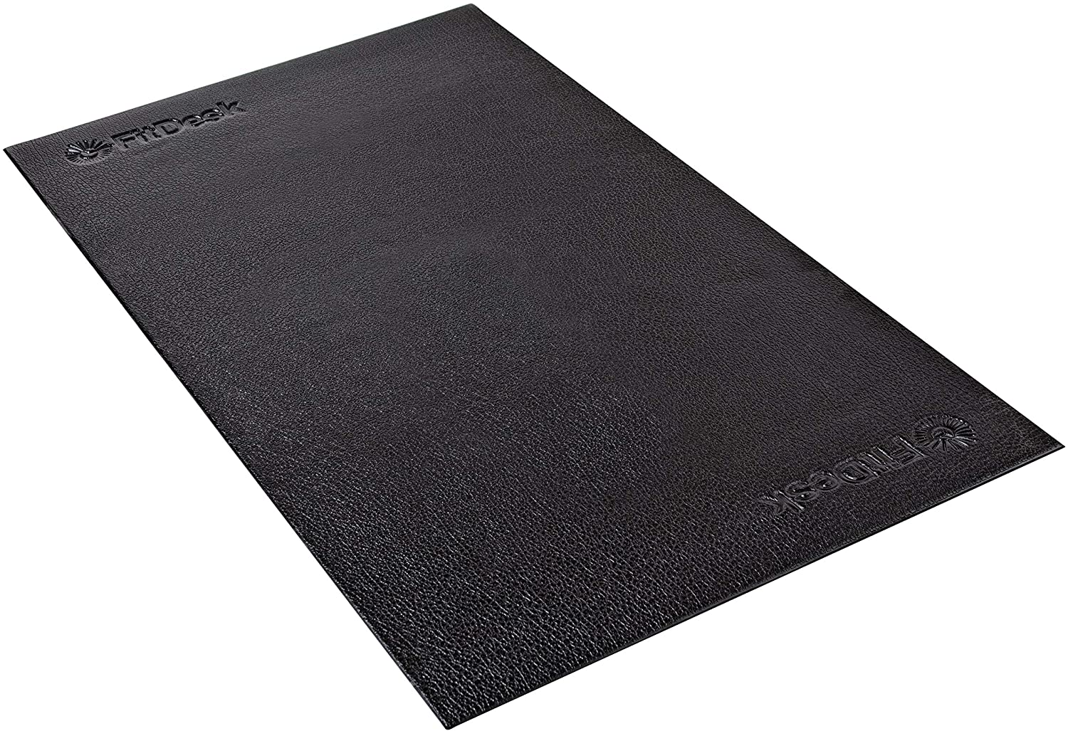 FitDesk Protective Floor Mat - High Density PVC Construction Material for Heavy Equipment like Bikes - No Bleeding on Carpets - Lightweight and Easy to Roll Up Gym Mat - Surface Area 48