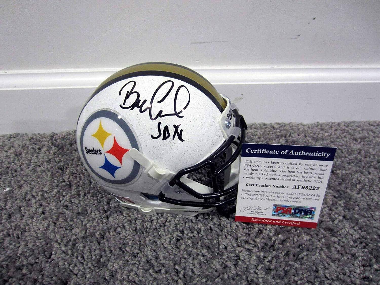 Bill Cowher Autographed Mini Helmet - Coach CUSTOM w COA SBXL - PSA/DNA Certified - Autographed NFL Mini Helmets