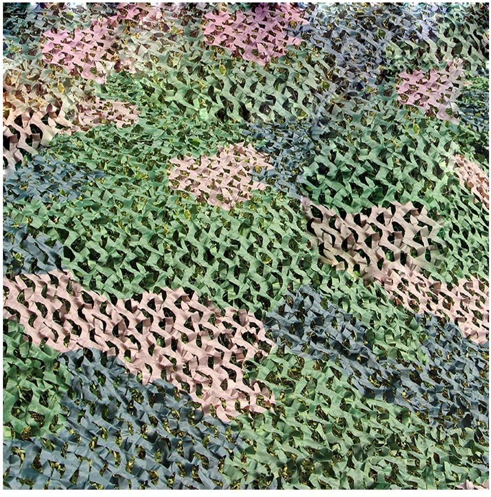 Thicken Camouflage Net Oxford Fabric Camo Net Hidden Hunting Shooting Camping Tent Stage Background Device Terrace Awning Theme Exhibition (Size : 2x3M)