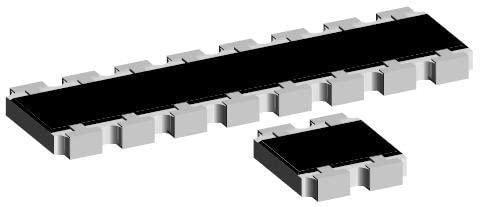 Resistor Networks Arrays 8Term 100ohms 5% Convex - Pack of 1000 (CRA12E083100RJTR)