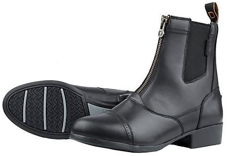 Dublin Ladies Summit Zip Paddock Boot 8 Black