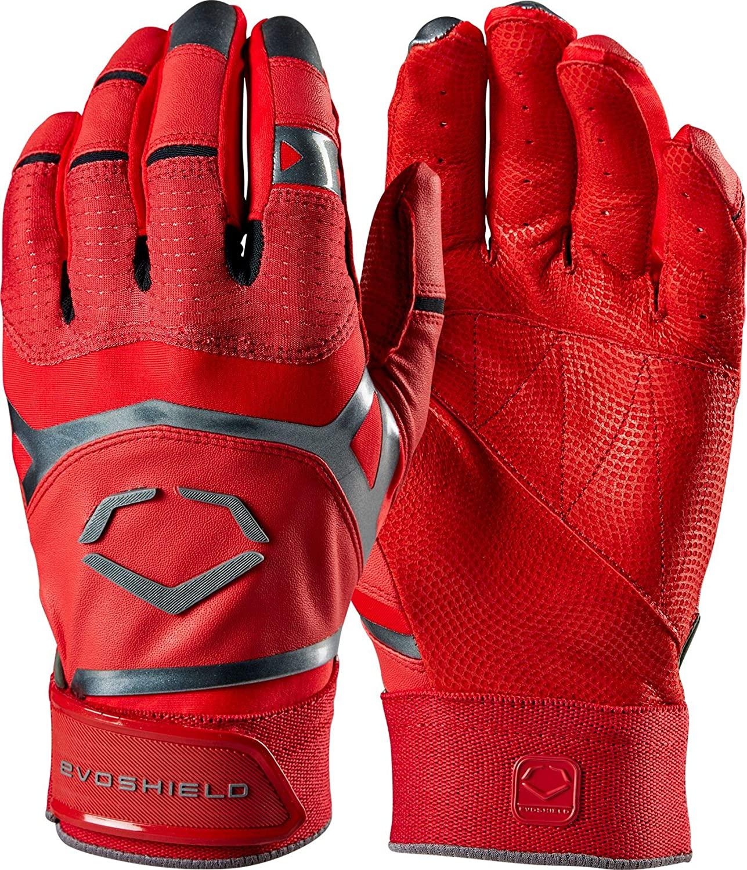 EvoShield XGT Batting Glove Scarlet Youth Medium