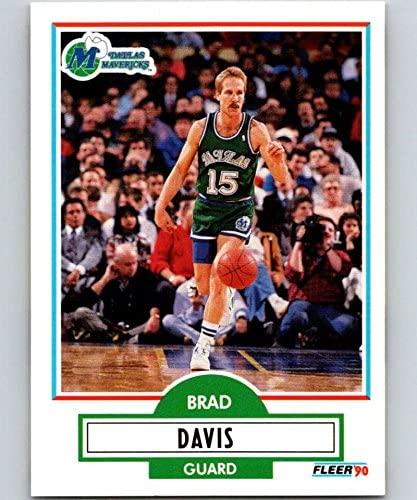 1990-91 Fleer #40 Brad Davis Mavericks NBA Basketball