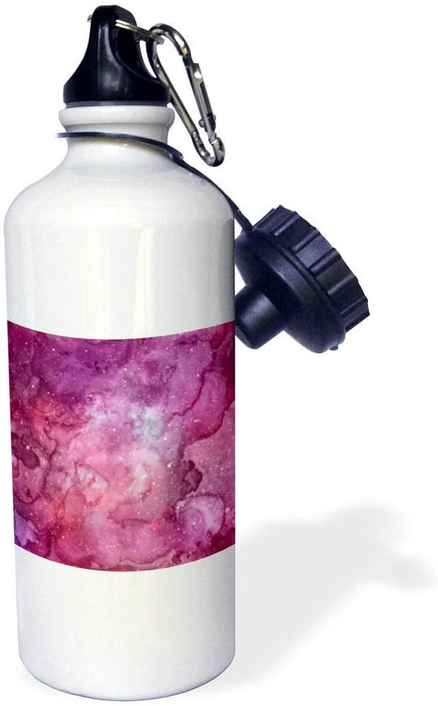 3dRose Anne Marie Baugh - Patterns - Celestial Image of Watercolor Sky - 21 oz Sports Water Bottle (wb_323090_1)