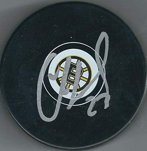 Chris Kelly Autographed Puck - Bruin - Autographed NHL Pucks