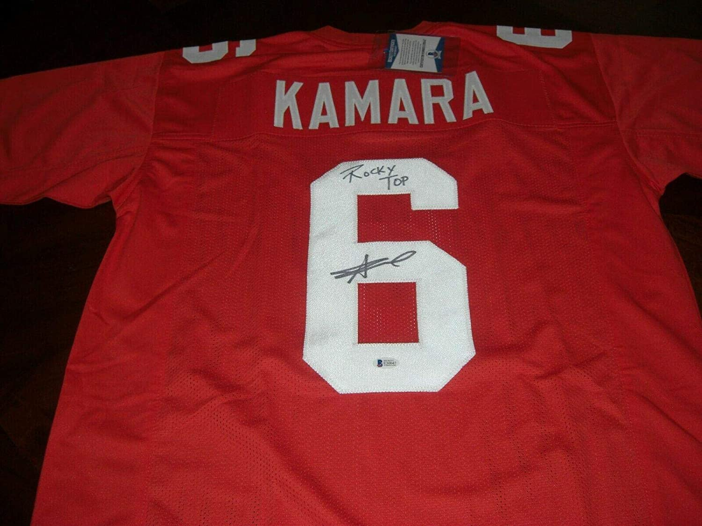 Autographed Alvin Kamara Jersey - Rocky Top! Beckett coa - Beckett Authentication - Autographed College Jerseys