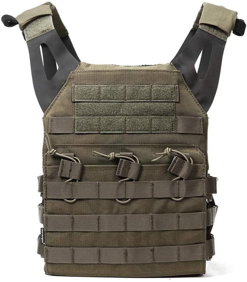 NOBUNO Tactical Vest, Multifunctional Seal Lightweight Jpc Tactical Vest Outdoor Multifunctional Combat Vest Military Fan CS Field Protective Equipment,1