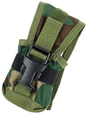 TMC 330 Style Multi-Purpose Pouch Tool Holder (Green Woodland) for Tactical Hiking Hunting Game