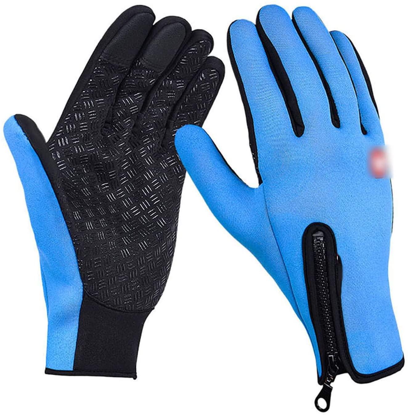 YR5V4V Winter Women Men Ski Snowboard Gloves Motorcycle Riding Waterproof Snow Windstopper Camping Leisure Skiing Gloves,YZ0228L,S,Ch