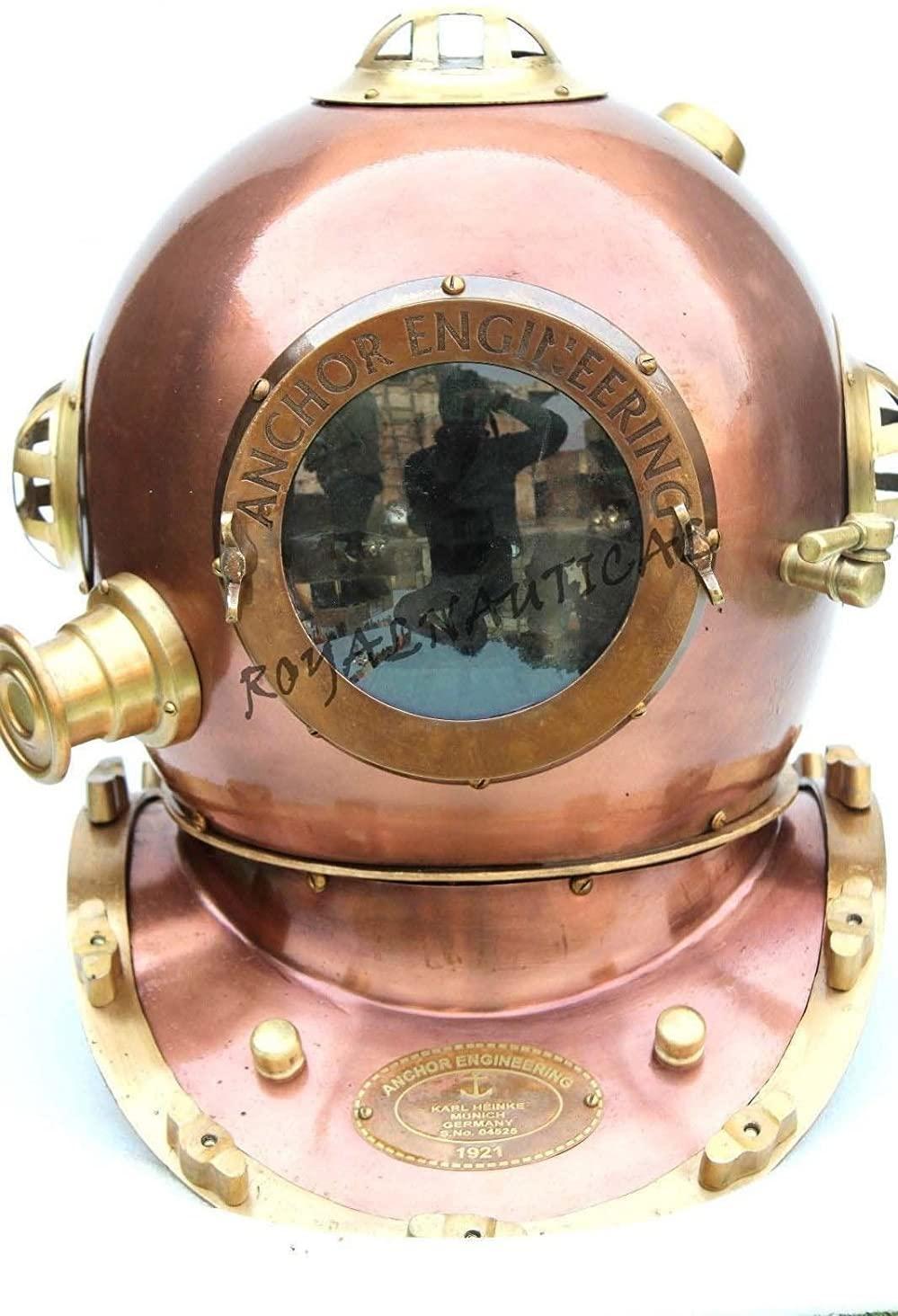 Copper Divers Helmet 18