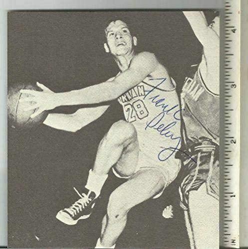 Frank Selvy Furman Univ Signed/Autographed 4x4 B/W Magazine Photo 150597 - Autographed NBA Magazines