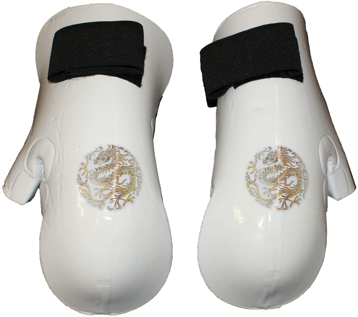 Asian Zing Macho White Punch Child Medium with Dragon Emblem