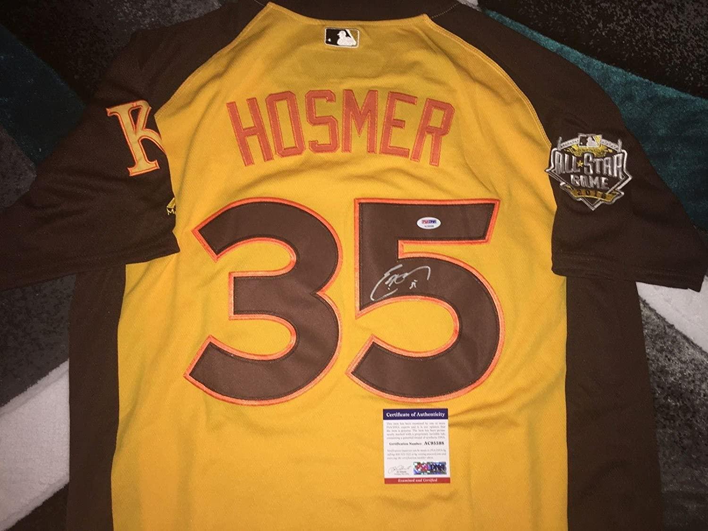 Eric Hosmer Autographed Jersey - 2016 All Star MVP WBC Star - PSA/DNA Certified - Autographed MLB Jerseys