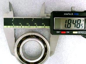 VXB Brand ZKLF80165 Axial Angular Contact Ballscrew Ball Bearing 80x165x45mm
