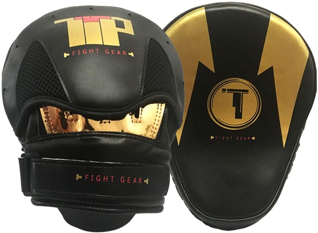 Punching Mitts Kickboxing Muay Thai MMA Boxing Mitts Training Focus Punch Mitts Bags Hand Target Pads for Kids, Men & Women