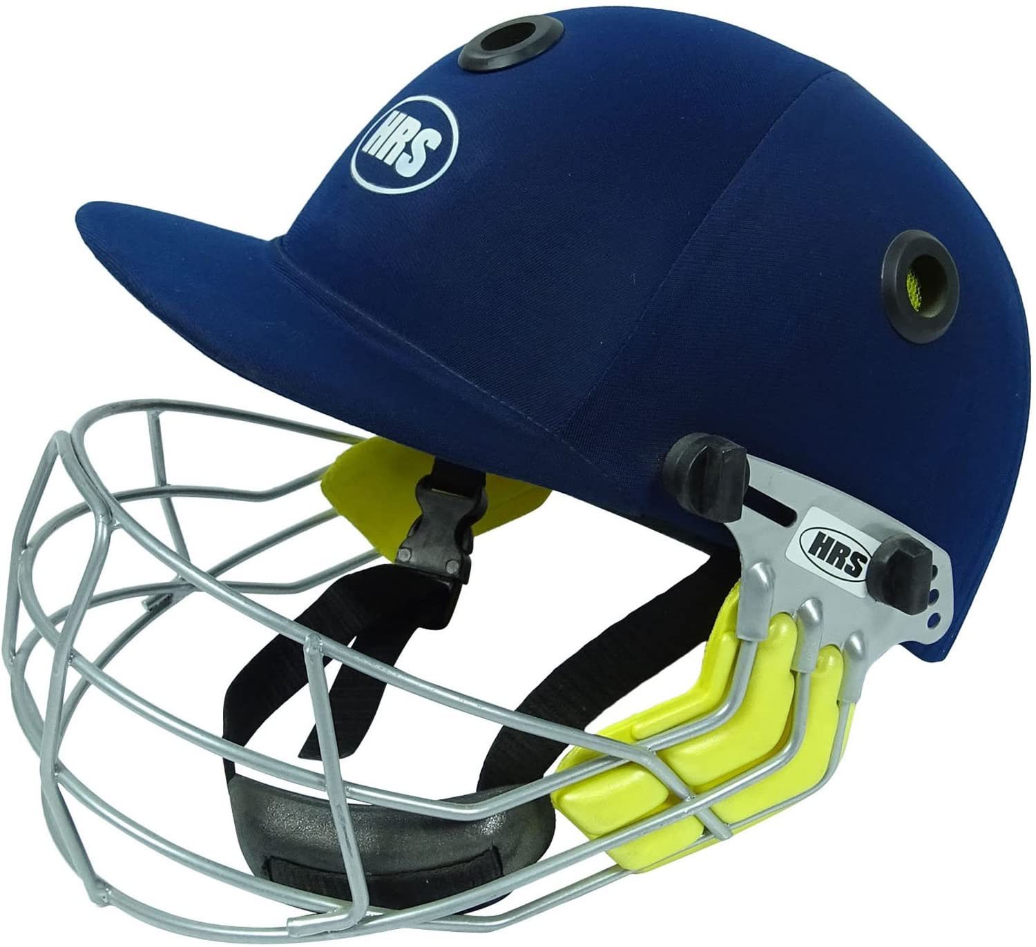 HRS Tournament Adjustable Cricket Helmet Steel Visor Head Protection Equipment