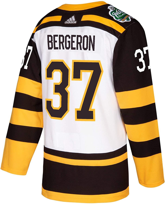 adidas Patrice Bergeron Boston Bruins 2019 Winter Classic Authentic Jersey