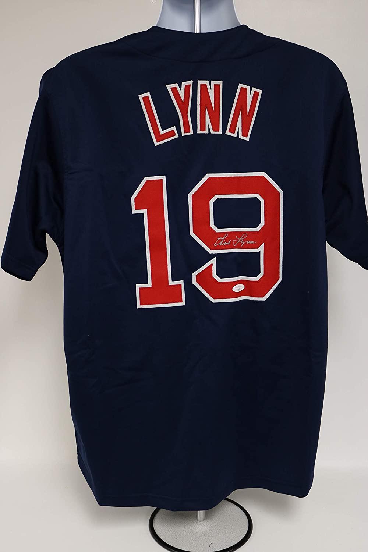 Fred Lynn Signed Autographed Boston Red Sox Throwback Baseball Jersey - JSA COA