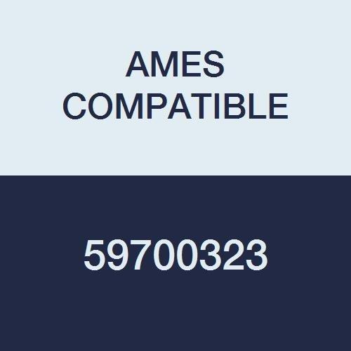 AMES COMPATIBLE 59700323 Color Code Label, Solid, 1-7/8