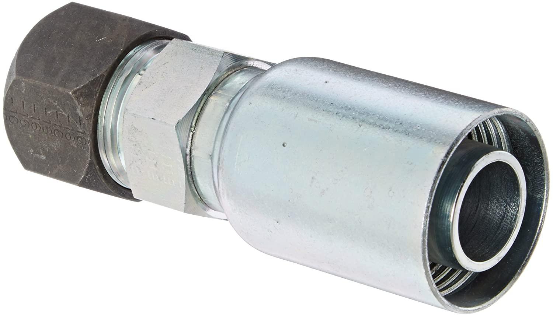 EATON Weatherhead Coll-O-Crimp 16U-766 Flareless Tube Rigid Fitting, Low Carbon Steel, 1