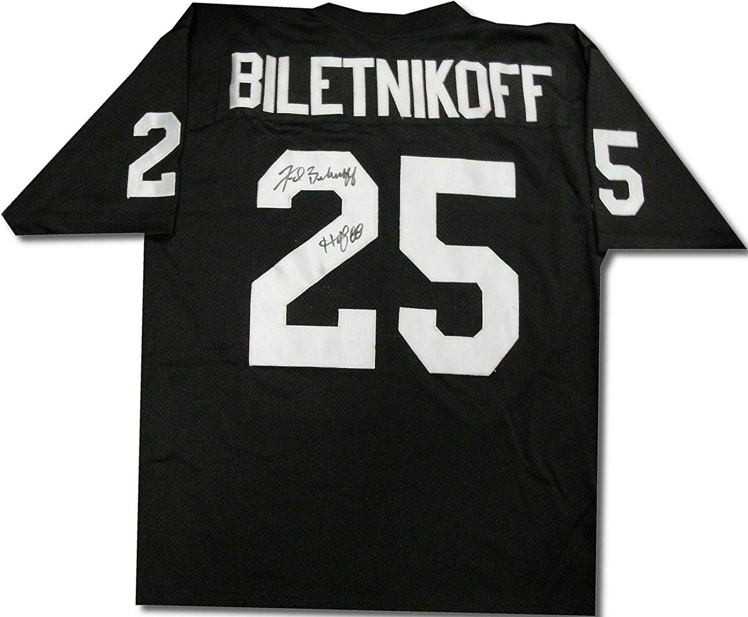 Fred Biletnikoff Signed Autographed Jersey