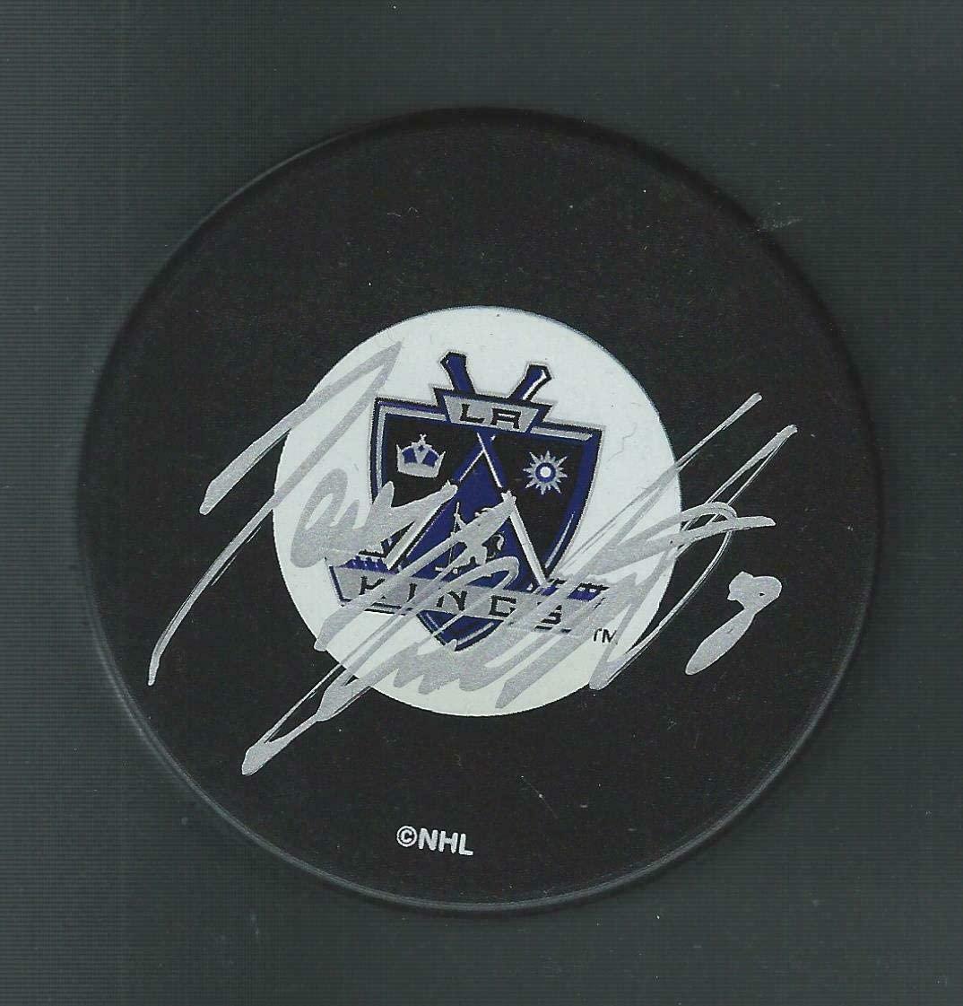 Jere Karalahti Autographed Puck - Autographed NHL Pucks