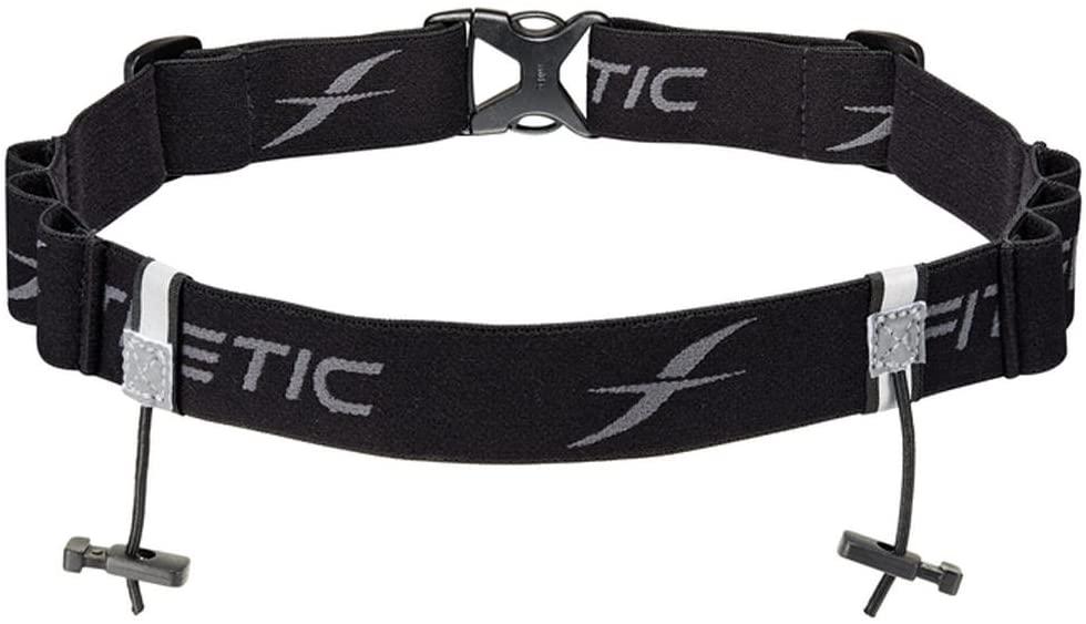 Fitletic Race Bib Belt with Gel Loops | Race Number Belt for Triathlon, Trail Running, Marathon Ironman, 5k, 10k | RN06 Race 2
