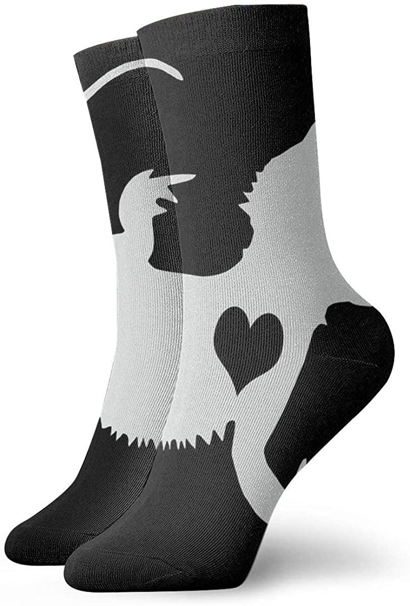 Adore Bearded Dragons Cute Novelty Athletic Socks Hiking Walking Socks Outdoor Recreation Socks Wicking Cushion Crew Socks Mid Calf Design All season