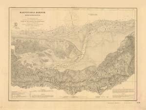 Historical Nautical Chart 339-00-1865: MA, Barnstable Harbor Year 1865