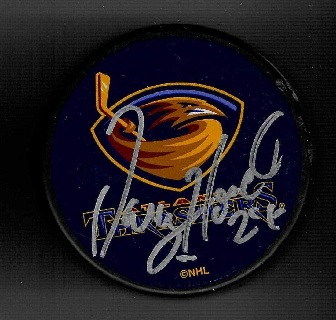 Darcy Hordichuk Autographed Puck - Souvenir - Autographed NHL Pucks