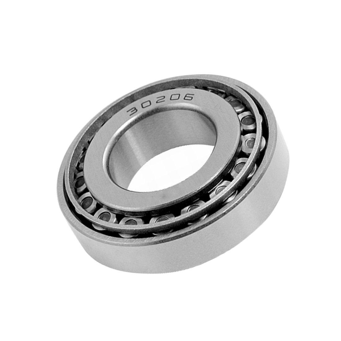 ZXHAO 30206 Standard Tolerance Tapered Roller Bearings 62x30x17mm (2-7/16