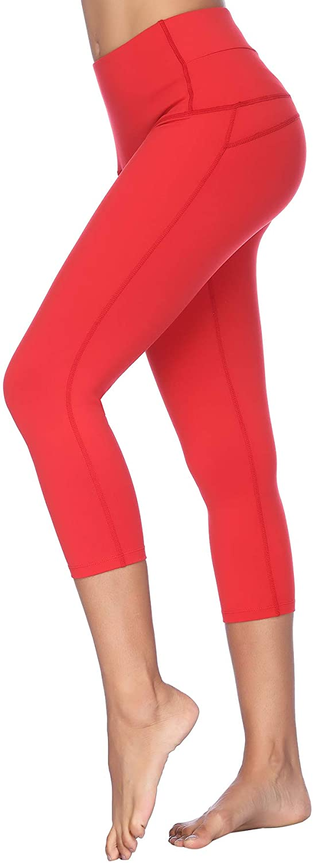 X-Fit Womens High Waist Yoga Pants Compression Tummy Control Workout Leggings
