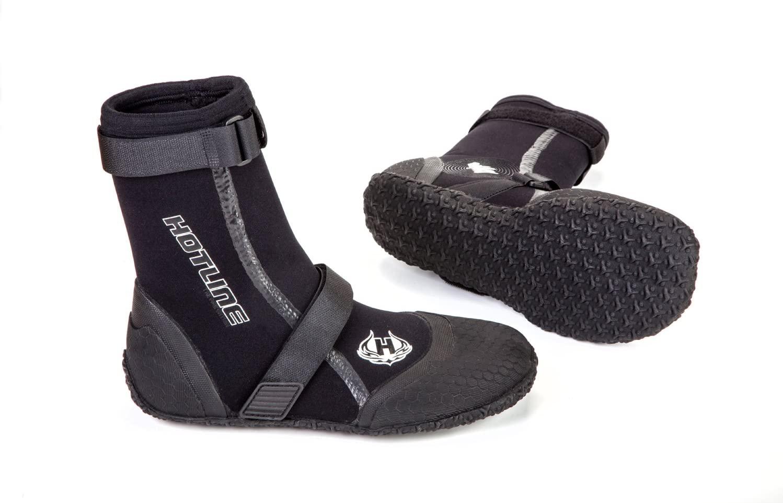 Hotline Wetsuits Booties Reflex Split Toe 3mm Black