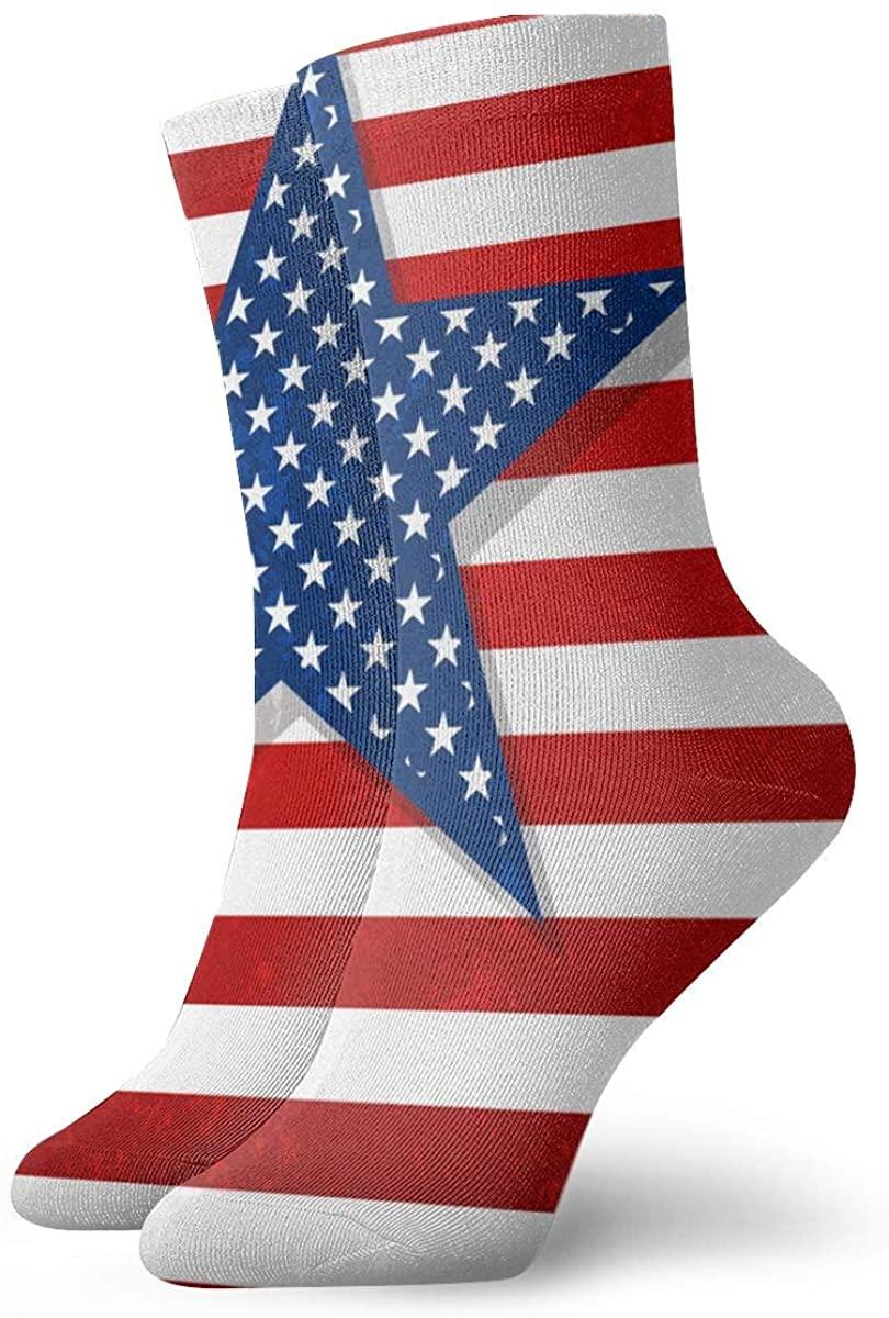 Game Life Crew Socks American Flag Men Women Sock Casual Socks