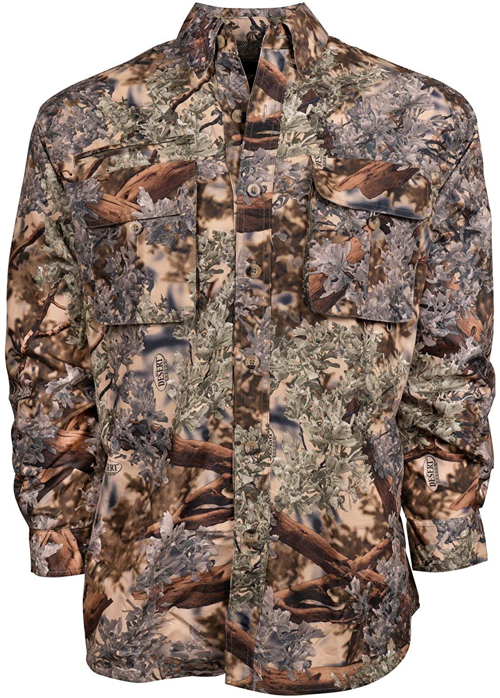 King's Camo Hunter Series Safari Long Sleeve Shirt