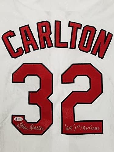 STEVE CARLTON Signed
