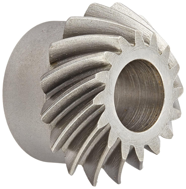 Boston Gear SS142-1P Spiral Bevel Pinion Gear, 2:1 Ratio, 0.500