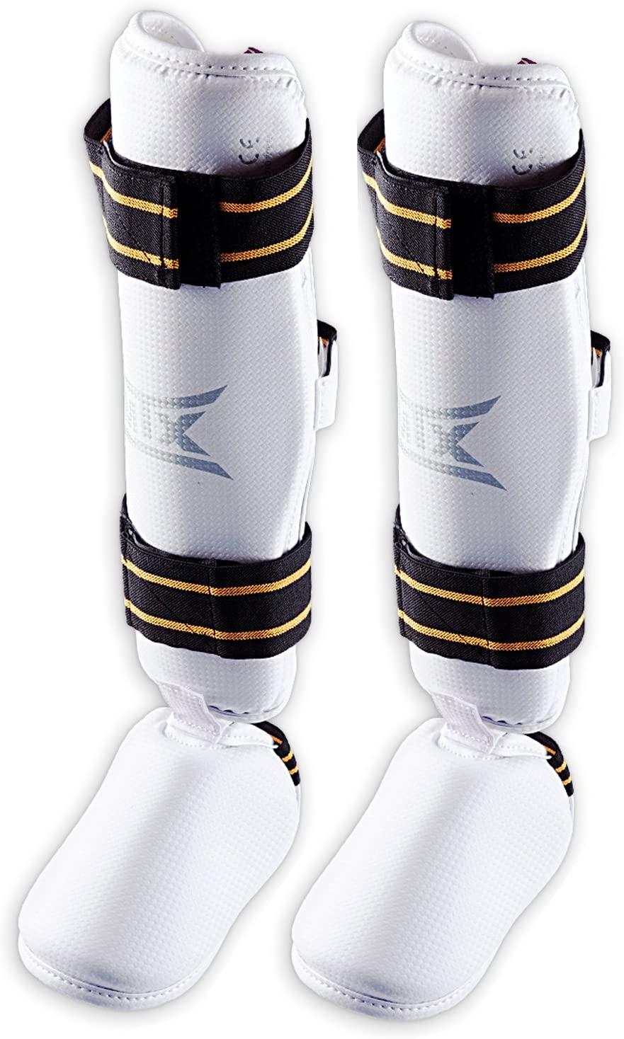 Mooto MTX New Taekwondo Shin Instep Protector Knee Leg Guard WTF Approved TKD XS to XL