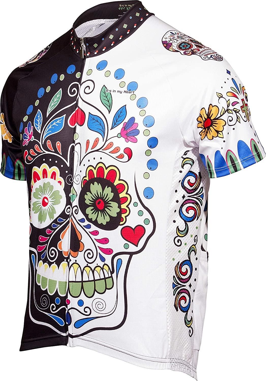 Sugar Skull Men's Road Cycling Jersey