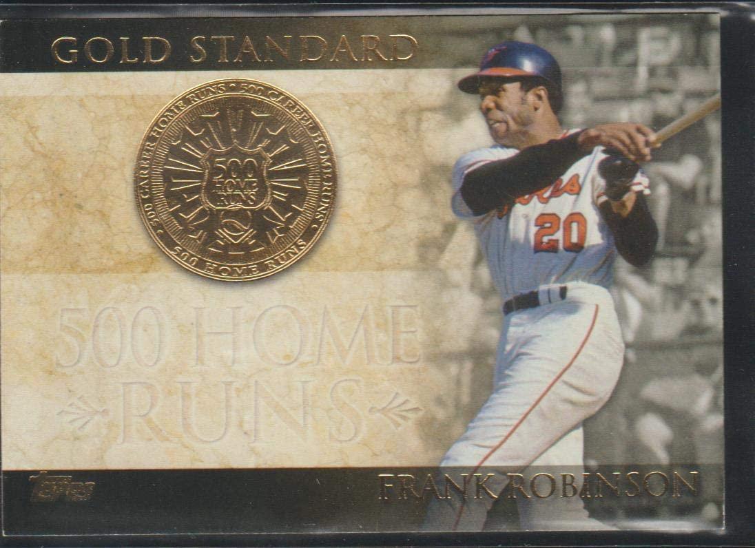 2012 Topps Frank Robinson Orioles Gold Standard Baseball Card #GS-7