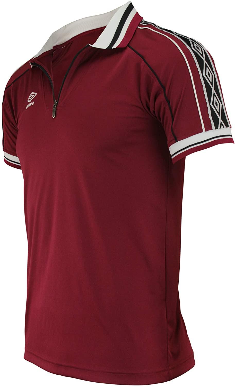 Umbro Mens Manu 1/4 Zip Soccer Jersey