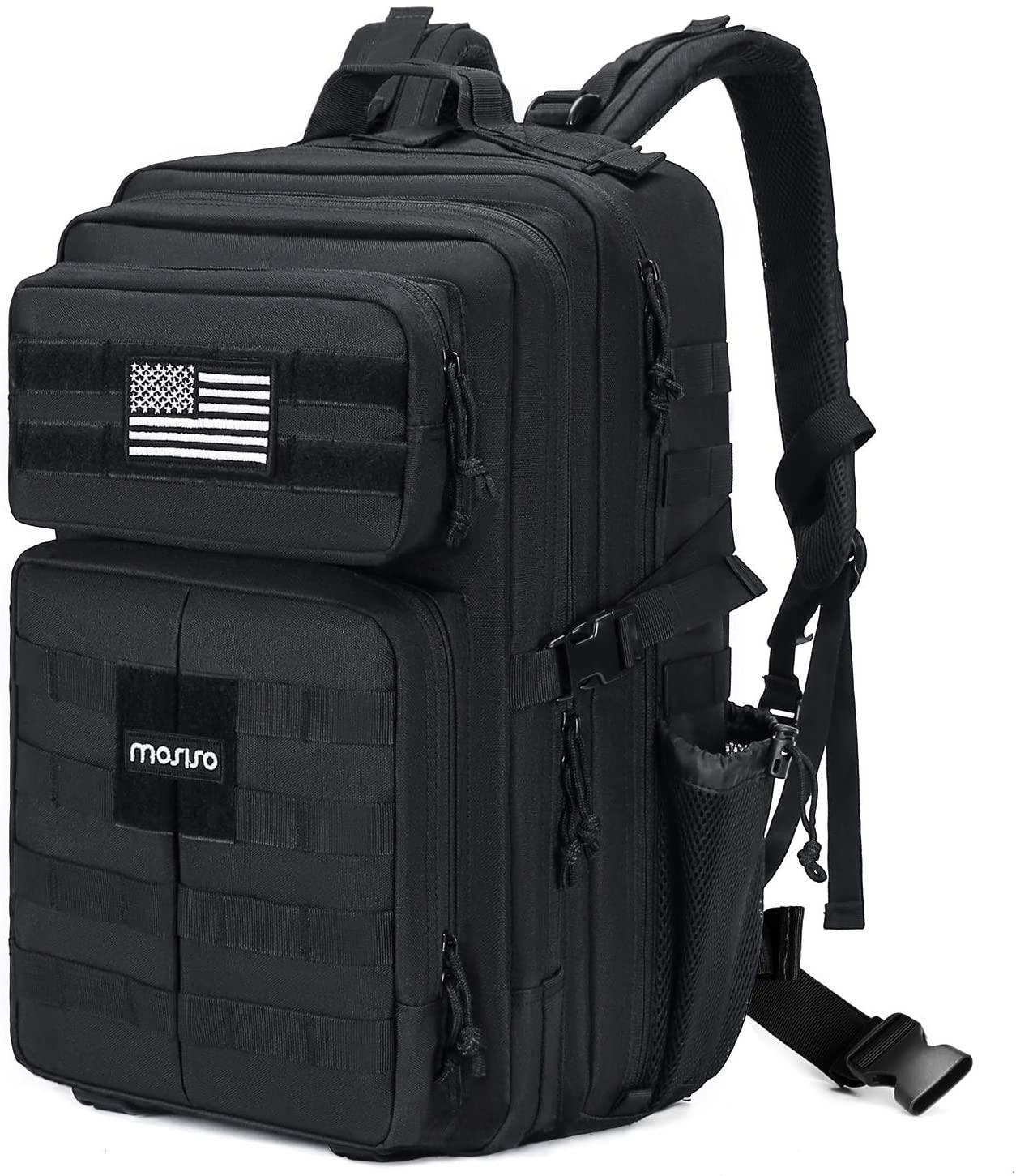 MOSISO Tactical Backpack, 30L 2-Layer Molle Rucksack Daypack Shoulder Bag