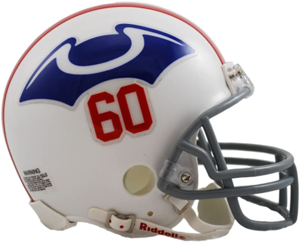 Riddell NFL New England Patriots Helmet Mini VSR4, One Size, Team Colors